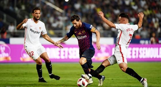 Messi - Suarez và bài toàn hàng công của Barca ảnh 1