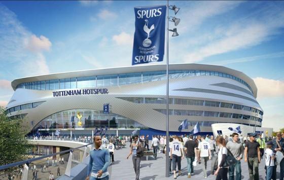 Sân vận động mới hoành tráng của Tottenham. Ảnh: Getty Images