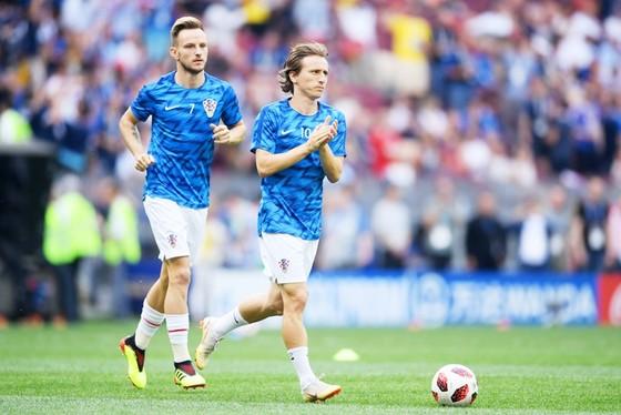 Rakitic thừa nhận Modric xứng đáng nếu nhận danh hiệu The Best. Ảnh Getty Images.