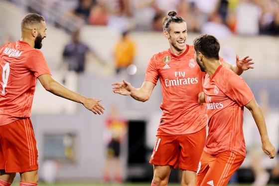 """Bộ ba BBA đang giúp Real """"sống tốt"""". Ảnh Marca."""