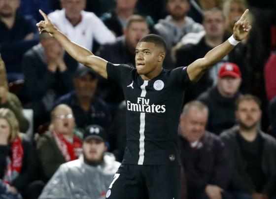 Man.City sẵn sàng lập kỷ lục chuyển nhượng với Kylian Mbappe. Ảnh: Getty Images