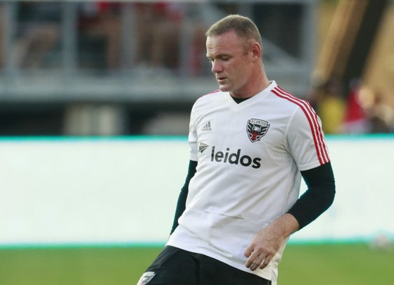 Wayne Rooney cuối cùng cũng có được trận cầu vinh danh. Ảnh: Getty Images