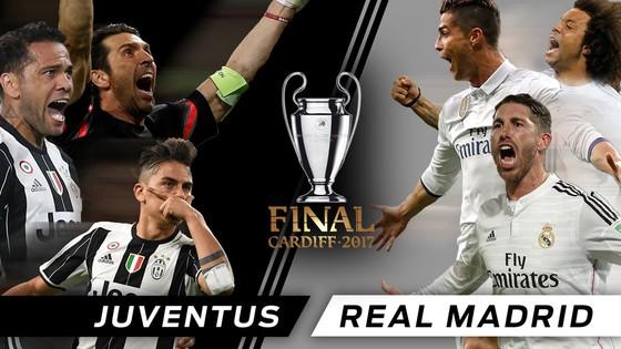 Juventus - Real Madrid (chung kết Champions League 2016-2017): Anh hùng hội ngộ