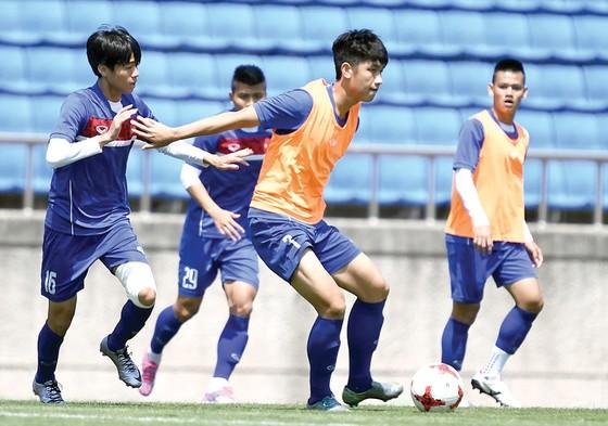 U20 Việt Nam đang nỗ lực cho ngày nhập cuộc.         Ảnh: T.Lê