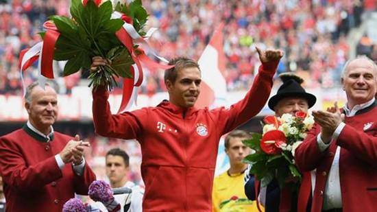 Bayern Munich sẽ chia tay huyền thoại  Philipp Lahm sau mùa bóng này