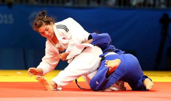 Như Ý (trên) vẫn là chủ lực của judo Việt Nam tại đấu trường SEA Games.