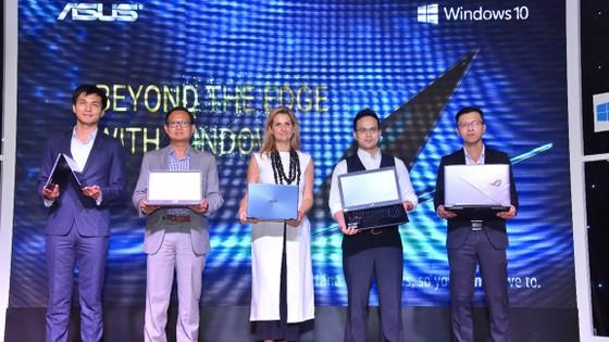 Các dòng laptop mới của ASUS cài đặt sẵn Windows 10 bản quyền