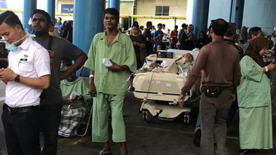 Cháy tại bệnh viện công lớn nhất Malaysia ảnh 1