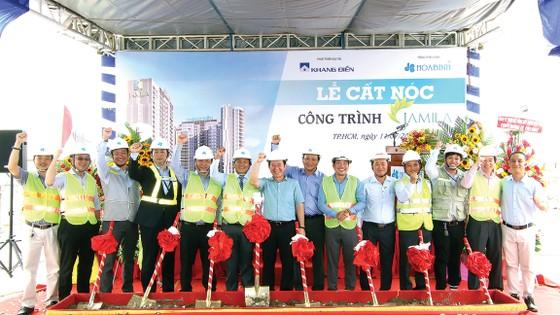 Hòa Bình khởi công giai đoạn 3 dự án Celadon City trị giá gần 660 tỷ đồng ảnh 1
