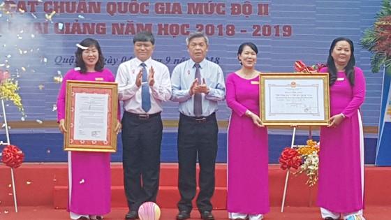 Trường Tiểu học Lê Văn Việt quận 9 được công nhận Chuẩn quốc gia mức độ II ảnh 1