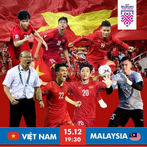 Lượt về chung kết AFF Cup 2018 giữa Việt Nam - Malaysia (19 giờ 30