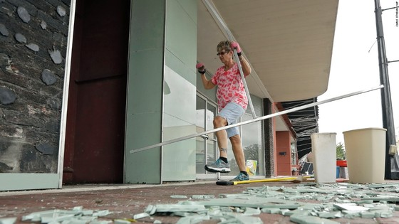 Florida tan hoang sau bão Irma ảnh 27