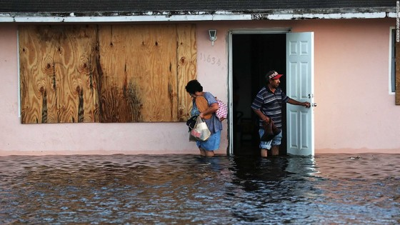 Florida tan hoang sau bão Irma ảnh 30