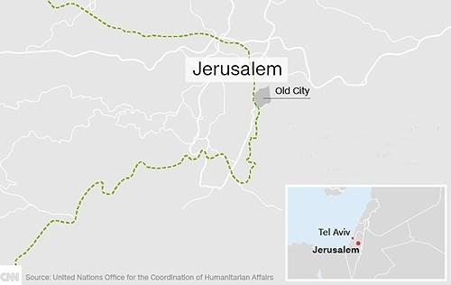 Mỹ công nhận Jerusalem là thủ đô của Israel  ảnh 4