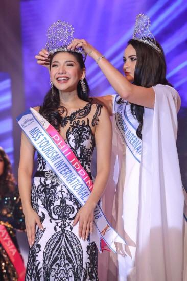 Người đẹp Philippines đăng quang Hoa hậu Du lịch Quốc tế 2017 ảnh 1