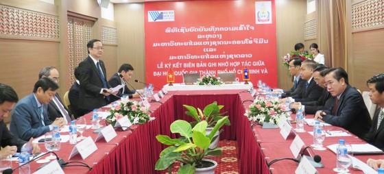 TPHCM hỗ trợ Đại học Quốc gia Lào phát triển nguồn nhân lực ảnh 1