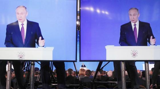 Tổng thống Nga Vladimir Putin đọc Thông điệp liên bang ảnh 2