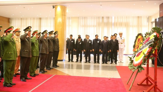 Lễ viếng nguyên Thủ tướng Phan Văn Khải tại Hà Nội ảnh 7