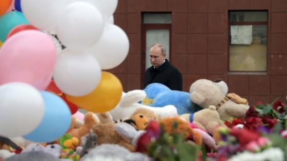 Vụ cháy trung tâm thương mại ở Nga: Nguyên nhân là do bất cẩn ảnh 1