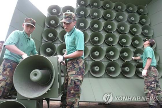 Hàn Quốc ngừng phát thanh tuyên truyền dọc biên giới với Triều Tiên ảnh 1