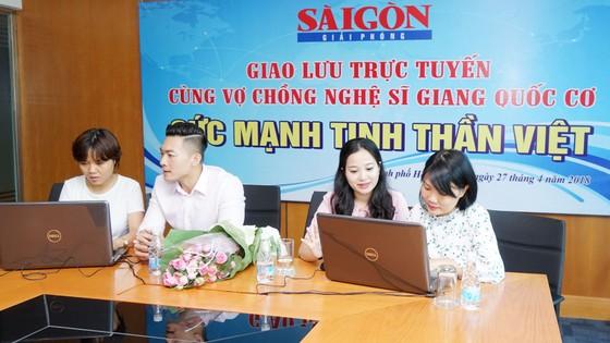 Giao lưu trực tuyến với nghệ sĩ Giang Quốc Cơ và người bạn đời MC Hồng Phượng ảnh 3