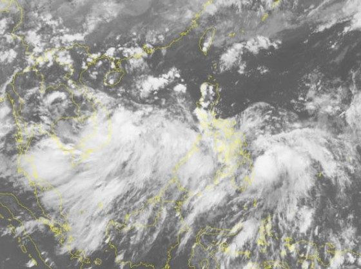 Trong 24 đến 36 giờ tiếp theo, áp thấp nhiệt đới có khả năng mạnh lên thành bão ảnh 1
