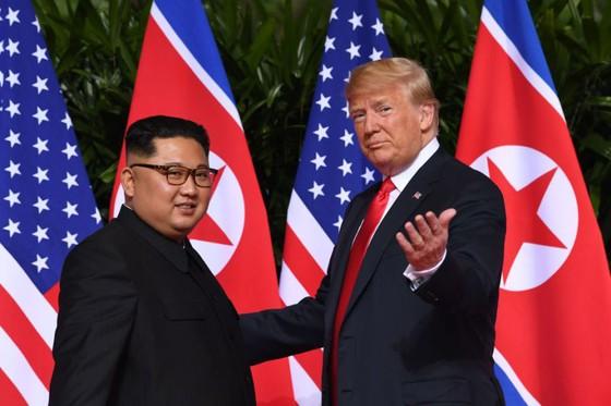 Hội nghị thượng đỉnh Mỹ - Triều Tiên: Lãnh đạo hai nước bắt đầu gặp nhau ảnh 2