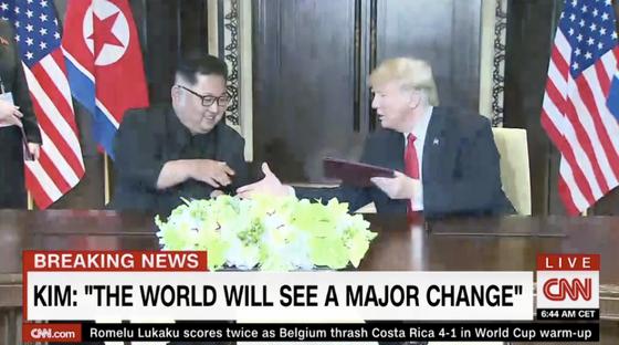 """Lãnh đạo Mỹ - Triều Tiên đã ký văn kiện """"rất quan trọng và toàn diện"""" ảnh 4"""