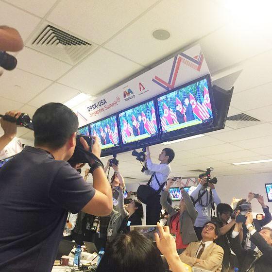 Hội nghị thượng đỉnh Mỹ - Triều Tiên: Lãnh đạo hai nước bắt đầu gặp nhau ảnh 10