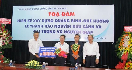 111 triệu đồng quà tặng đồng hương khó khăn tỉnh Quảng Bình ảnh 4