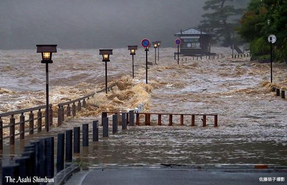 Hơn 100 người chết và mất tích trong đợt mưa lớn kỷ lục tại Nhật ảnh 13