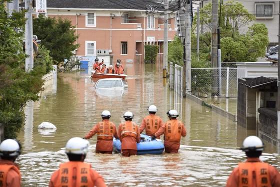 Hơn 100 người chết và mất tích trong đợt mưa lớn kỷ lục tại Nhật ảnh 4