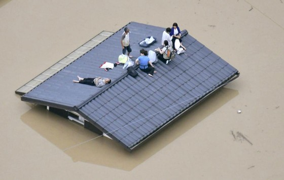 Hơn 100 người chết và mất tích trong đợt mưa lớn kỷ lục tại Nhật ảnh 24
