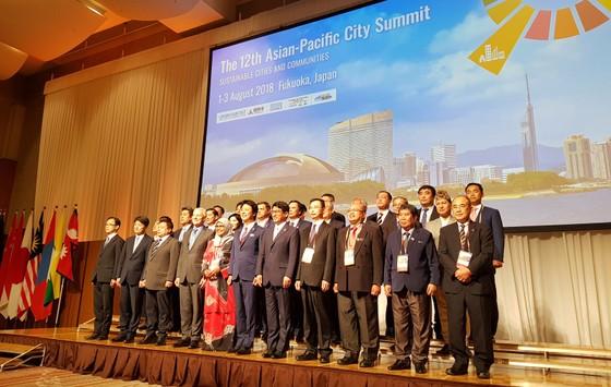Hội nghị thượng đỉnh các thành phố Châu Á Thái Bình Dương tại thành phố Fukuoka, Nhật Bản ảnh 1