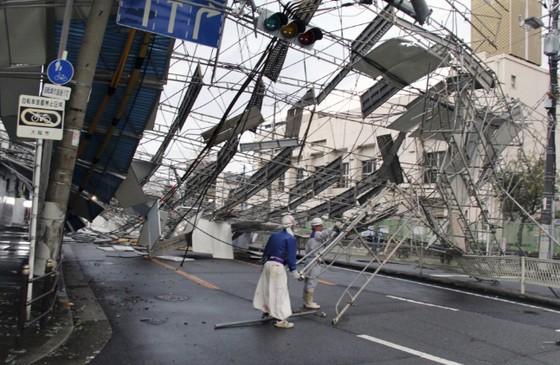 Siêu bão Jebi tiếp tục gây thiệt hại tại miền Tây Nhật Bản ảnh 8