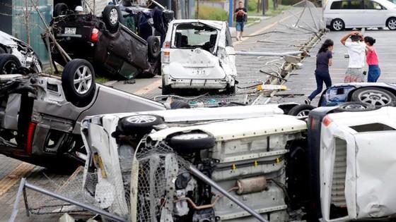Siêu bão Jebi tiếp tục gây thiệt hại tại miền Tây Nhật Bản ảnh 3