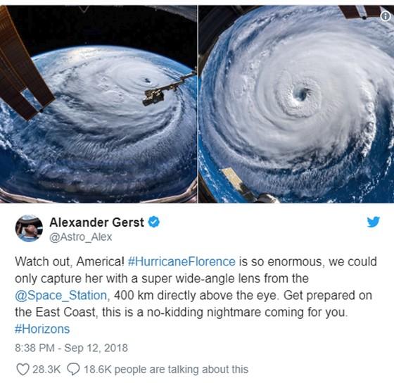 Siêu bão Florence là một trong chuỗi 9 cơn bão đang hoạt động trên thế giới ảnh 3