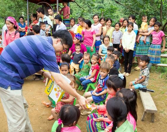PV GAS góp phần ủng hộ xây dựng điểm trường Lũng Kim, Cao Bằng ảnh 1