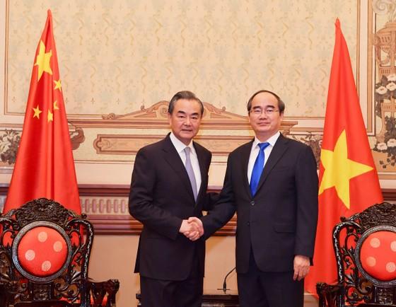 Lãnh đạo TPHCM tiếp Bộ trưởng Bộ Ngoại giao Trung Quốc ảnh 2