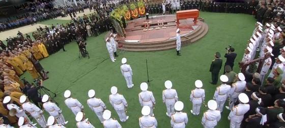 Linh cữu Chủ tịch nước đã về quê hương Quang Thiện ảnh 9