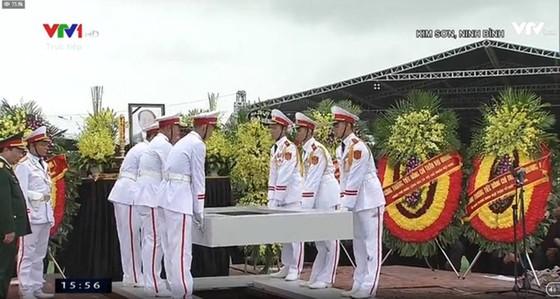 Linh cữu Chủ tịch nước đã về quê hương Quang Thiện ảnh 3