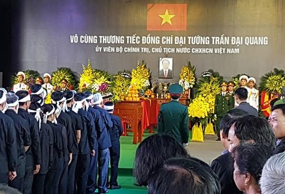 Linh cữu Chủ tịch nước đã về quê hương Quang Thiện ảnh 16