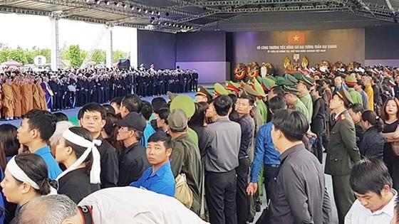 Linh cữu Chủ tịch nước đã về quê hương Quang Thiện ảnh 33