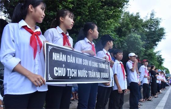 Linh cữu Chủ tịch nước đã về quê hương Quang Thiện ảnh 36
