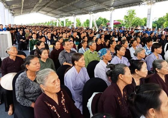 Linh cữu Chủ tịch nước đã về quê hương Quang Thiện ảnh 34