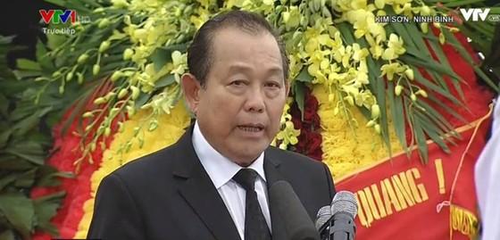 Linh cữu Chủ tịch nước đã về quê hương Quang Thiện ảnh 1