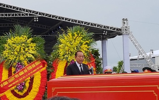 Linh cữu Chủ tịch nước đã về quê hương Quang Thiện ảnh 11