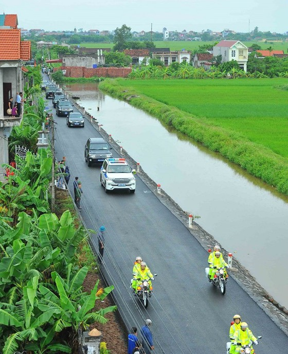 Linh cữu Chủ tịch nước đã về quê hương Quang Thiện ảnh 24