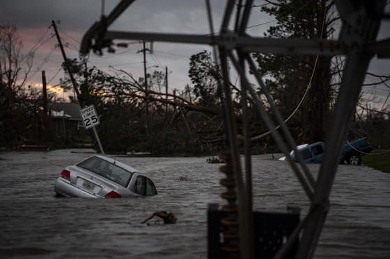Florida tan hoang sau siêu bão Michael mạnh nhất kể từ năm 1992 ảnh 20