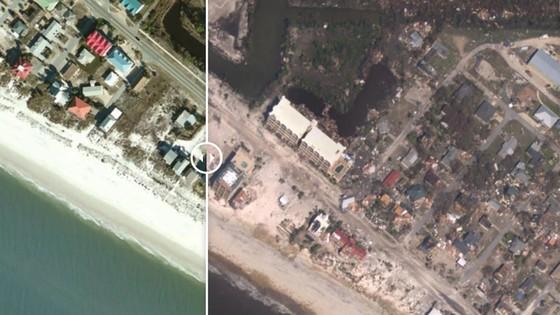 Siêu bão Michael tấn công Florida: 17 người chết, một căn cứ quân sự bị san bằng, cả thị trấn bị xóa sổ ảnh 2